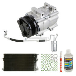 For Ford Taurus And Mercury Sable 2001 Oem Ac Compressor W/ Condenser Drier Csw