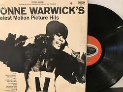 Dionne Warwickand039s Greatest Motion Picture Hits Lp 1969 Scepter - Sps 575 Vg+/vg+
