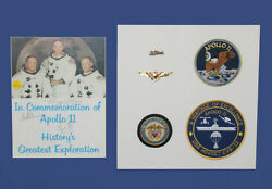 Apollo 11 Autograph Neil Armstrong Buzz Aldrin Michael Collins Mission Signed