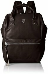 Anello Japan Dark Brown Synthetic Leather Large Rucksack Laptop Backpack 180155 $147.40
