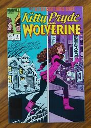 Kitty Pryde And Wolverine Limited Series, Lot Of 6, Complete, Uncertified 1984
