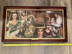 Gone With The Wind Dreams Remembered Bradford Exchange 6 Plates Set/collection
