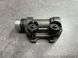 Surefire Weight Reduction Version Mh90 M962 M951 M981 Body W/ M49 Mount Used