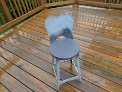 Vintage Kitchen Step Chair Stool 50andrsquos 60andrsquos