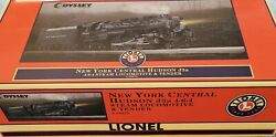Lionel 6-28072 Nyc 4-6-4 J-3a Hudson Steam Locomotive And Tender 0w/ Tmcc And Sound