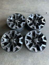 4 Toyota Tacoma Oem 16 Inch Trd Off Road Alloy Rims Wheels 2016-2021 Set Of Four