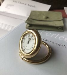 And Rare Collectable Travel Pocket Alarm Clock Watch