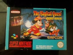 The Magical Quest Starring Mickey Mouse Fah Complet Tbe Snes Super Nintendo