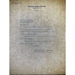 Vice President Hubert H. Humphrey Typed Letter Signed In Pencil - October 1964