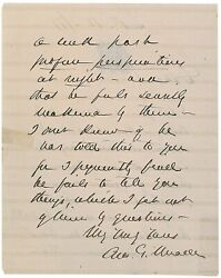 George Meade - Autograph Letter Signed - Defeated Robert E. Lee At Gettysburg