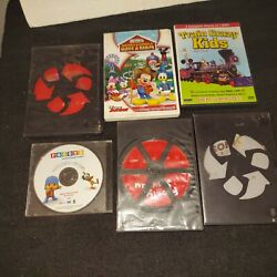 Dvd Lot For Children Bob The Builder Construction Heros Mickey Mouse Club House