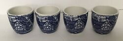 Vintage Royal Essex China - Shakepeares Country - 4 Egg Cups