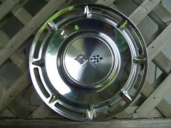One 1960 60 Chevrolet Chevy Impala Bel Air Nomad Hubcap Wheel Cover Center Cap