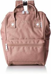 Anello Japan Nude Pink Small Size Rucksack Laptop Backpack Retro Mottled 180139 $91.25