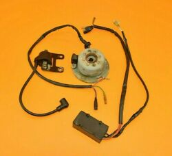 87-88 1987 Rm250 Rm 250 Electrical System Cdi Ignition Stator Wiring Flywheel