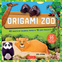 Origami Zoo Kit: Make a Complete Zoo of Origami Animals : Kit with Origami