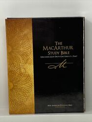 Nasb Macarthur Study Bible Indexed Black Bonded Leather New American Standard
