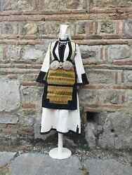 Womanand039s Ethnic Costume From Bitola Region Upper Bitola Villages