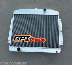 62mm Core For Mercury With Ford 302 V8 Mt 1949-1951 1950 Aluminum Radiator