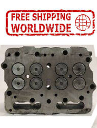 New Engine Cylinder Head Bare With Guides For Cummins N-14 3076209 3084060