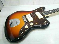 Crews Maniac Sound Sunburst Electric Guitar With Soft Case Shipped From Japan