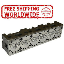 New Engine Cylinder Head Bare With Guide For John Deere 60766068 8.1 Ltr R86427