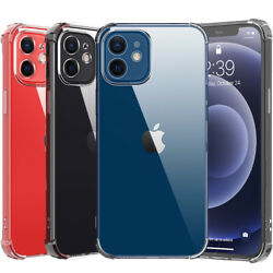 100 Pcs Case For Iphone 12 11 Pro Max Xr Xs Max Defender Clear Tpu Slim Cover