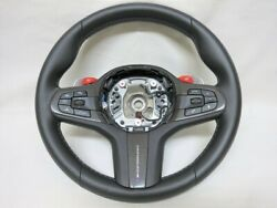 Rare Performance With Cover F97 X3m Genuine Leather Steering Acc Drive Button