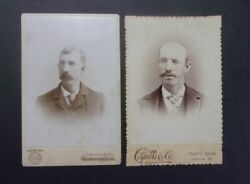 Lewiston Me Raymond 2 Cabinet Card Photo Idd Thurlow Brothers