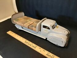 1940s Lincoln Toys Coca Cola Pressed Steel Toy Delivery Truck