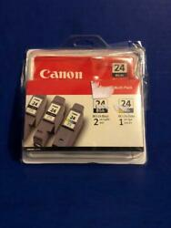 6881a039b Bci-24 Genuine Canon Black And Color Combo Ink Tanks