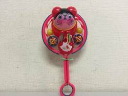 Showa Retro Celluloid Rattle 28cm Things At The Time Mini Curio Toy Shop Kurades