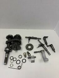 96-02polaris Sportsman 500 4x4 Transmission Gears And Shift Forks Parts