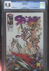 Spawn 9 Cgc 9.8 Todd Mcfarlane 1st Medieval Spawn And Angela White Pages