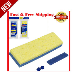 Quickie Type S Mop Refill Clean Squeeze Sponge Fits 045-4 045on 045hpm Mops New