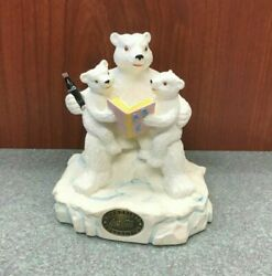 Coca Cola Heritage Collection C Is For Coca Cola Statue, Polar Bears Abcs