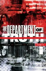 Department of Truth #4 Image 2020. First Printing Cover A