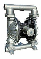 Double Diaphragm Teflon Air Pump Pii.100s Chemical Industrial Stainless Steel 1.