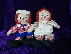 1965 Raggedy Anne And Andy Dolls By Knickerbocker - 16