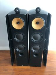Bowers And Wilkins Bandw 804 Floor Standing Speakers Mint Condition