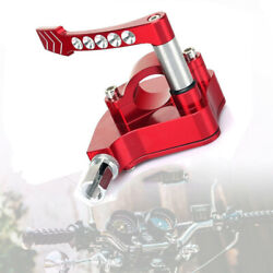 7/822mm Universal Thumb Throttle Assembly Speed Control Lever For Honda Yamaha