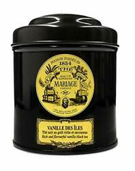 Mariage Freres. Vanille Des Iles 100g Loose Tea In A Tin Caddy 1 Pack Seller ...