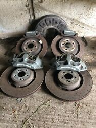 Mercedes C63 Amg W205 Brakes Set And Calipers Discs Set 390mm 360mm