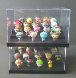 Funko Pop Pint Size Heroes - Fortnite Lot Of 38 With Display Cases