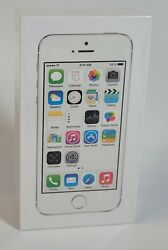Brand New Fast Shipping Apple Iphone 5s - 16gb - Silver Unlocked A1533 Gsm