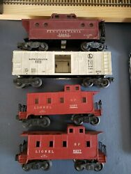 O Lionel Freight Car Lot 6257 6357 6472 536417