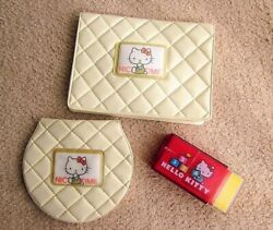Rare Showa Retro Kittyand039s Coin Case Pass With Telephone List Sanrio 1976 Fancy