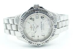 Breitling Colt Ocean A17350 White Stainless Steel Menand039s Automatic Watch