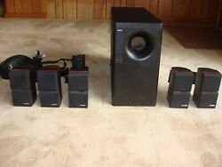 Bose Acoustimass 10 Home Theater Speaker Systemcables Speaker Wall Mounts
