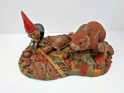 Tom Clark Tim Wolfe The Race Gnomes Figurine Tortoise And The Hare In Box
